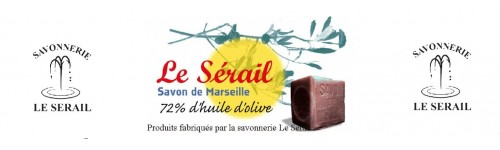 Produits fabriquer par la savonnerie Le Serail