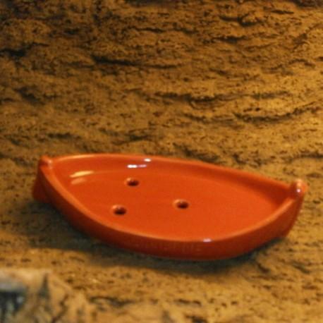 Porte savon la barquette Marseillaise rouge